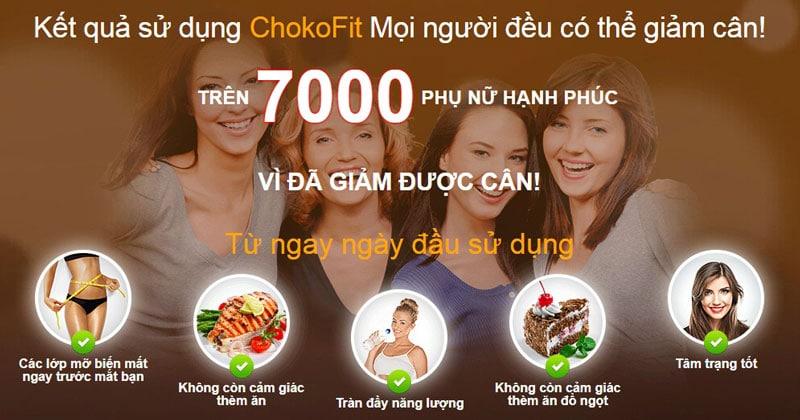 ChocoFit giảm cân có tốt không