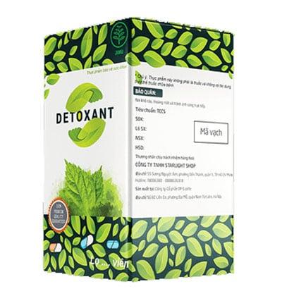 Detoxant chống ký sinh trùng tin cậy