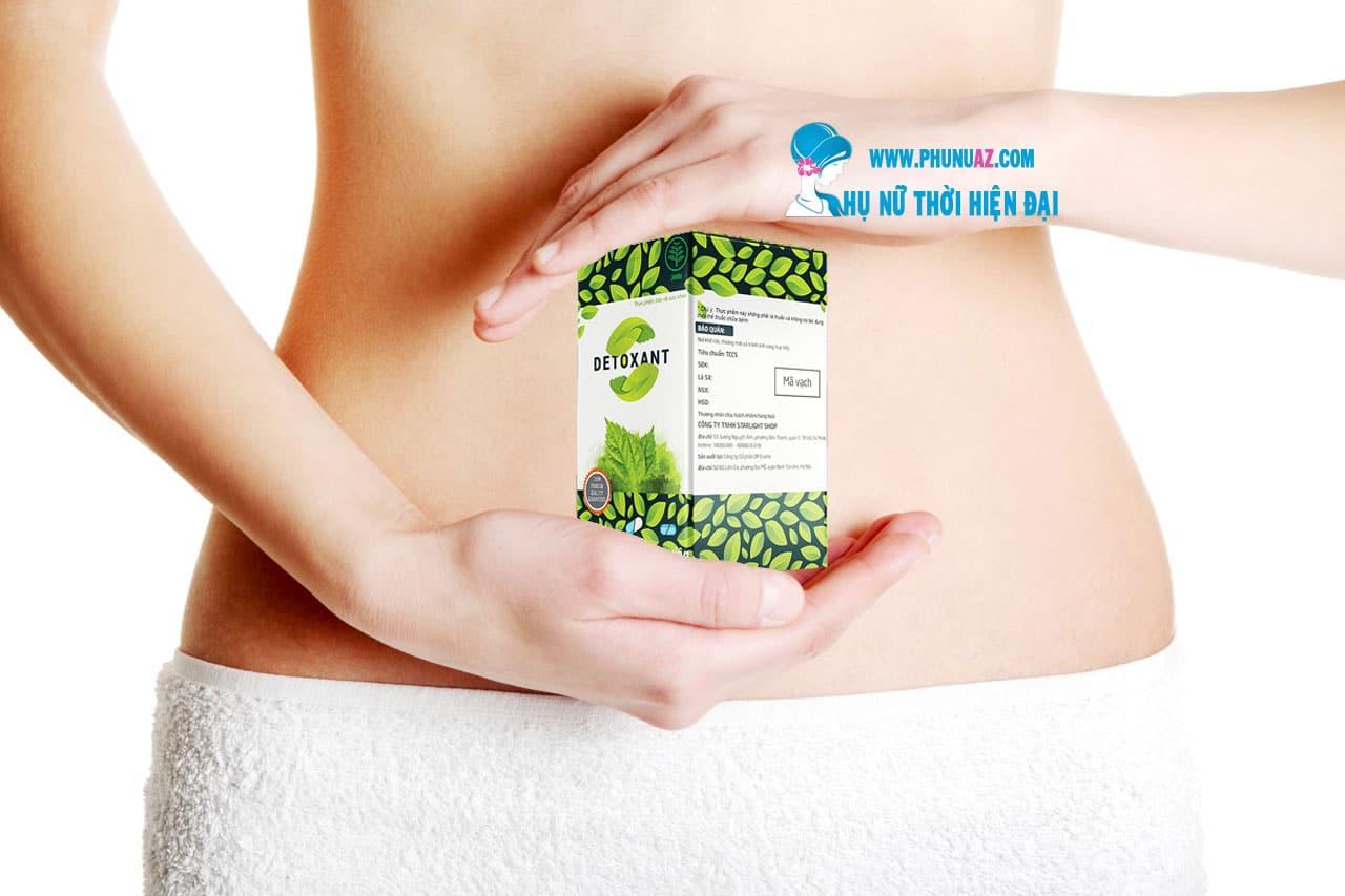 Detoxant liệu pháp chống ký sinh trùng tin cậy