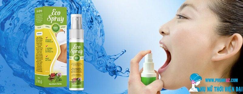 Hướng dẫn sử dụng Eco Spray giảm cân hiệu quả