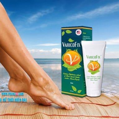 Gel Varicofix chữa suy giãn tĩnh mạch an toàn hiệu quả