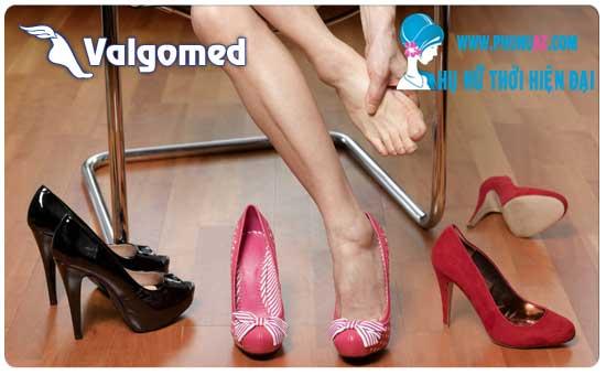 Valgomed điều trị dị tật ngón chân cái hiệu quả
